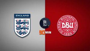 ทีมชาติอังกฤษ พบ ทีมชาติเดนมาร์ก
